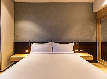 Guest Room with Large Bed