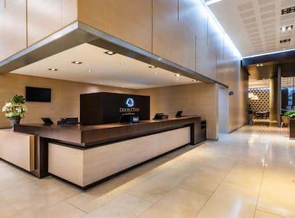 Hotel Lobby front desk