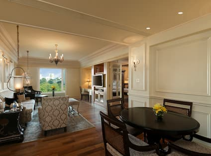 Majestic Suite Living with Dining