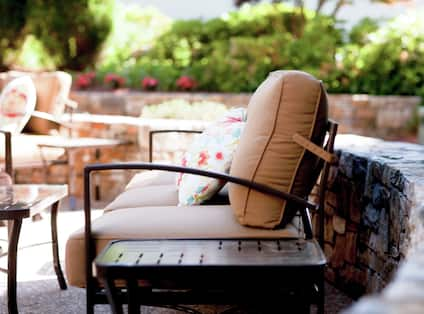 Hotel Outdoor Patio Seating
