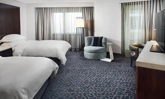 Double Beds Corner Room