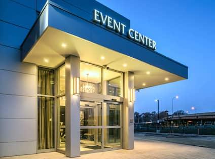 Entrance to event center