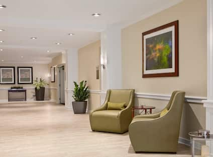 Lobby Hall with Chairs