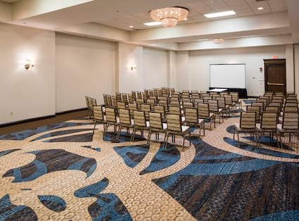 Meeting Room Arranged Theater Style