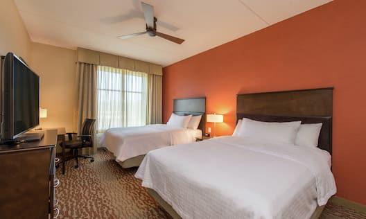 Two Queen Beds in Suite Bedroom