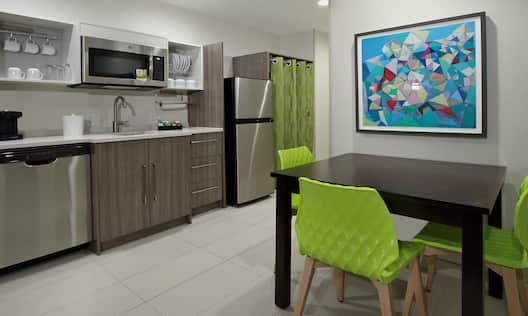King One Bedroom Kitchen