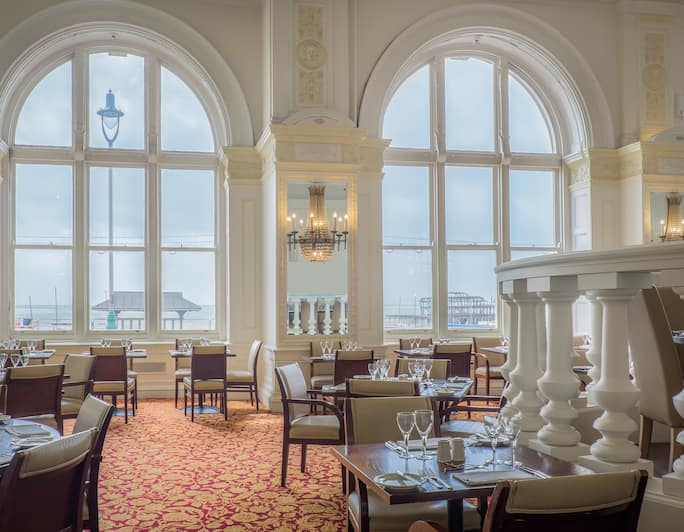 Restaurants And Bars At The Hilton Metropole Hotel In Brighton Uk
