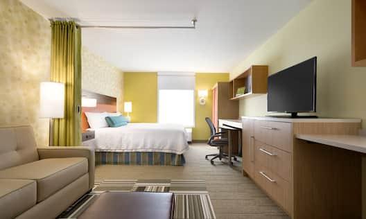 Home2 Suites by Hilton Baton Rouge Hotel, LA - King Studio Suite