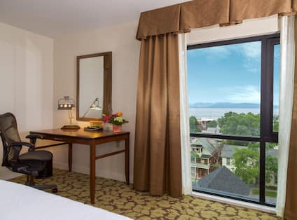 Standard Room work area and View