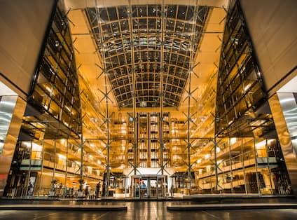 Large Atrium at Hotel