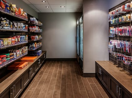 24-Hour On-Site Convenience Store