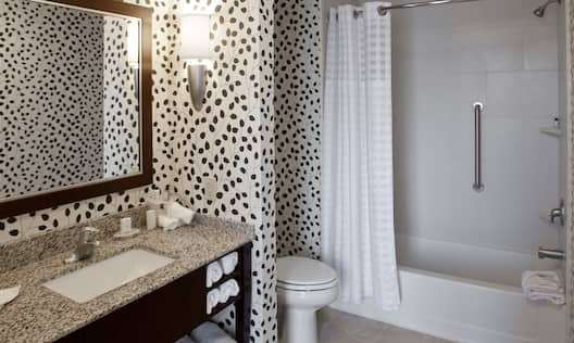 Executive Queen Suite Bath