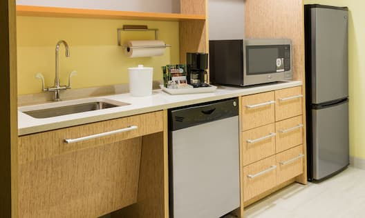 Home2 Suites by Hilton Buffalo Airport/ Galleria Mall Hotel, NY - Accessible Kitchen