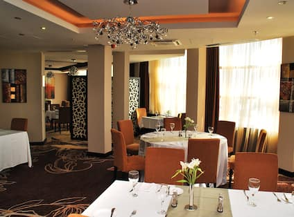 Hotel Restaurant and Dining Area