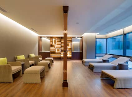 Relaxation Room at Eforea Spa