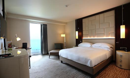 King Guestroom No Balcony Sea View