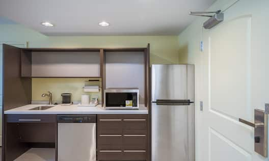 Suite Kitchen with Accessible Sink
