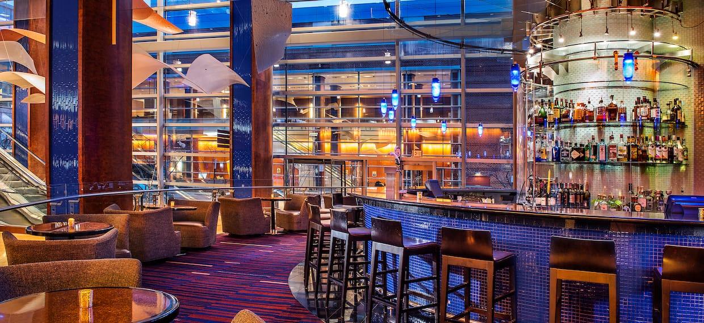 Lobby Bar Seating at Hilton Baltimore