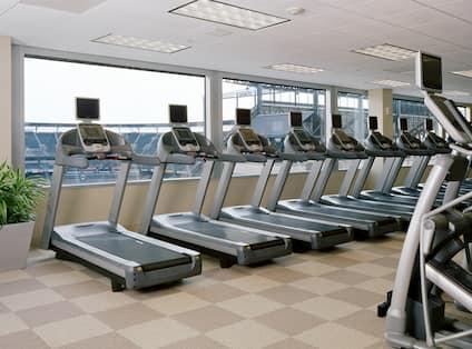 Hilton Baltimore Hotel, Baltimore, Maryland - Fitness Center