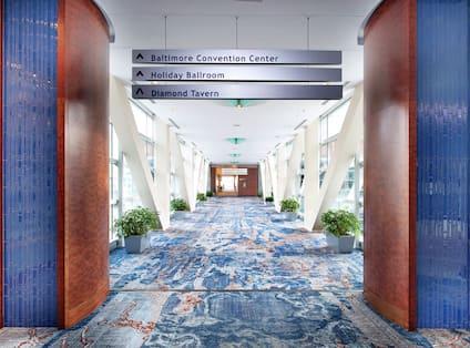 Hallway To Meeting Rooms