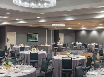 Our Ballroom is Perfect for Hosting Weddings and Social Events