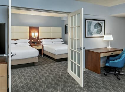Double Double Two Room Guestroom Suite