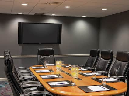 Our Howard Boardroom is Perfect for Productive Meetings to Re-Energize Your Team