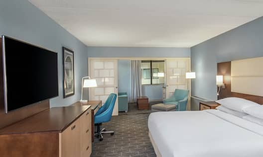 Our King Junior Suite is Perfect for Business Travel