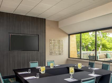 Our PDR Room with Adjoining Patio and Additional Outdoor Seating is Just Minutes from Baltimore's Inner Harbor