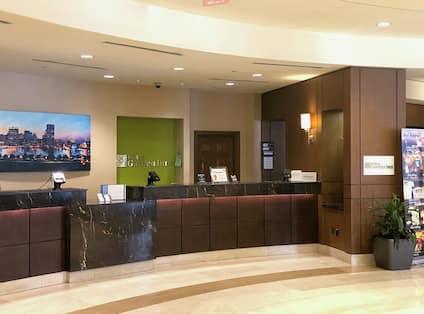 Front Desk Reception