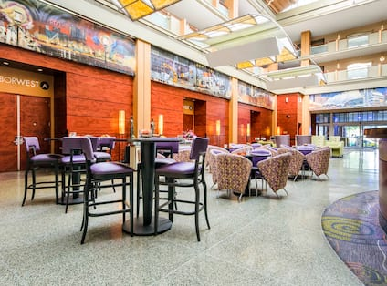 Hotel Lobby and Dining Area