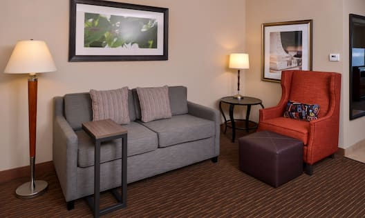 Guest Room Living Area Suite