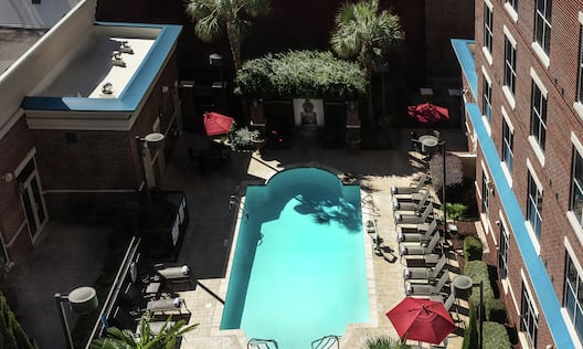 Pool View from Guest Room