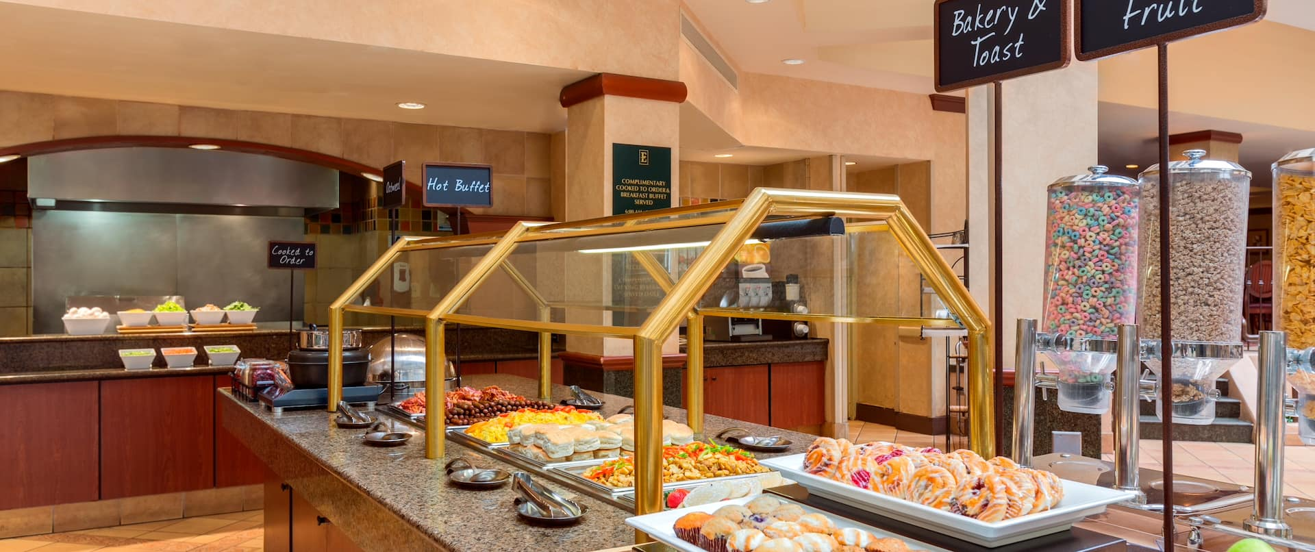 Breakfast Area Selections