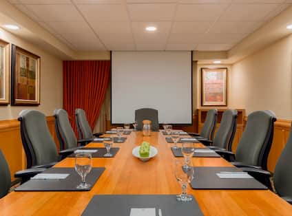 Boardroom and Media Screen