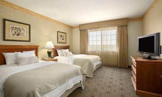 Double Beds Bedroom