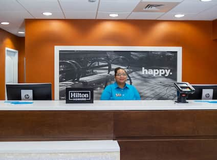 Front Desk with Associate