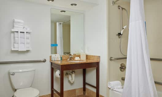 Accessible Bathroom with Bathtub