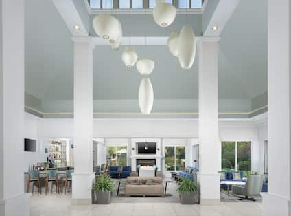 Soft Seating Area in Lobby