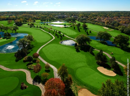 Aerial View of Willow Crest Course