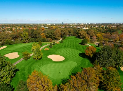 Aerial View of Willow Crest Golf Course
