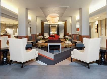 Soft Seating in Lobby Lounge Area