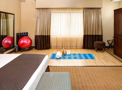 King Yoga Room