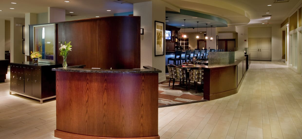 BC Bistro and Lounge Entrance With View of Dining Area
