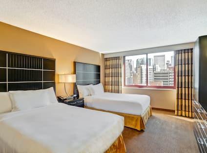 2 Double Suite Beds