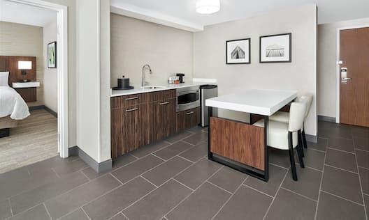 Suite Kitchenette Area
