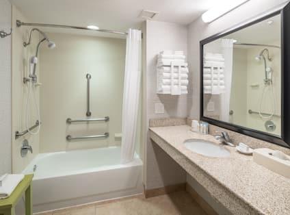 Accessible Bathroom and Tub