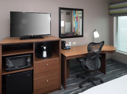 Work Desk and  TV