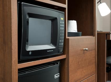 Microwave in Room