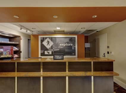 lobby, frond desk